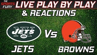 New York Jets vs Cleveland Browns | Live Play-By-Play & Reactions