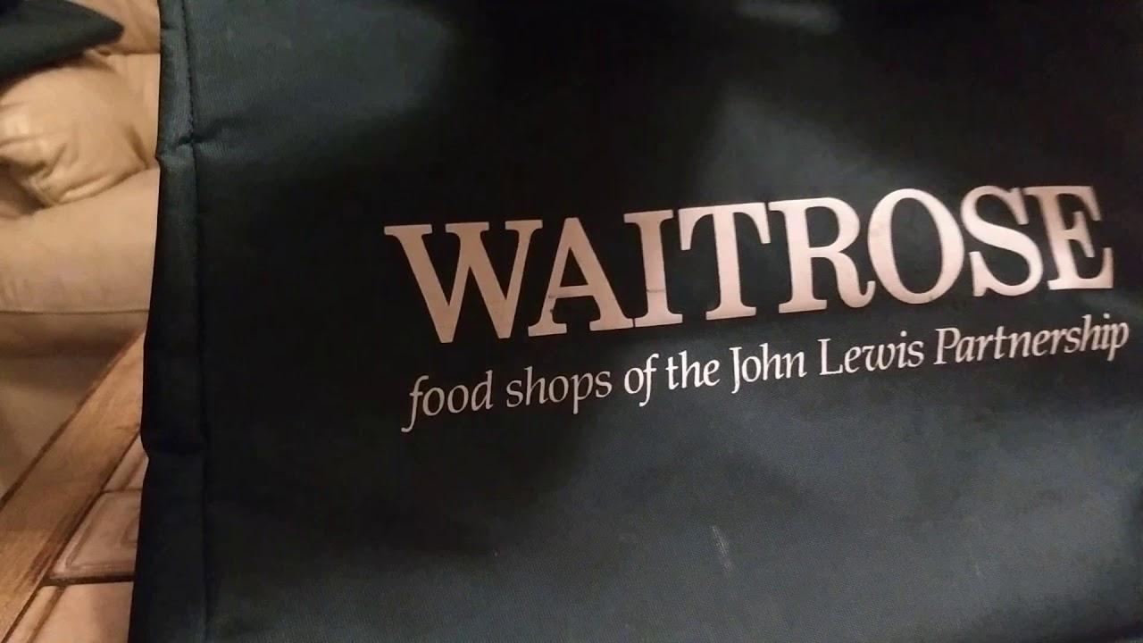 How To Fold Waitrose Green Bag Youtube