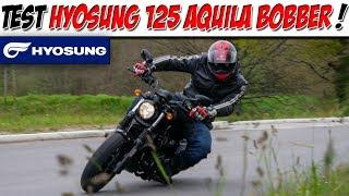 #MotoVlog 160 : TEST HYOSUNG 125 AQUILA BOBBER / UNE MINI HARLEY !