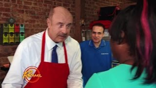 Dr. Phil Serves Pizza With a Side of Advice to Shocked Diners