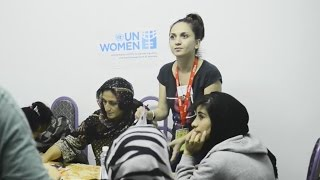 UN Women programme with refugee women in fYR Macedonia and Serbia
