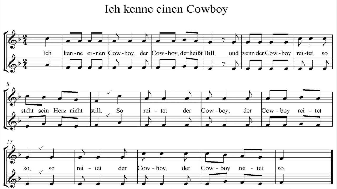 Ich Kenne Einen Cowboy