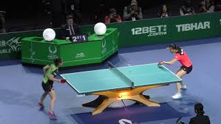 2018 ITTF Team World Cup - Ding Ning v Ito Mima (private recording)