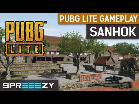 PUBG Lite SANHOK Gameplay FPP | EU SERVERS | 300 FPS | Very Low Settings | GTX 1080ti & i7-8700k