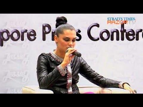 Loving the top (Jessie J hits Singapore Pt 4)