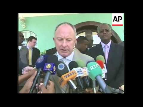 Irish FM arrives in Sudan to sound out prospects for Darfur peace