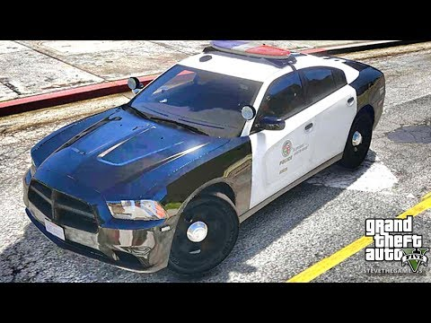 GTA 5 MODS LSPDFR 796 - CHARGER PATROL!!! (GTA 5 REAL LIFE PC MOD)
