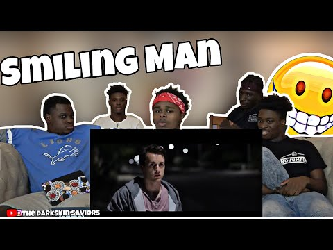 H7 The Smiling Man Youtube The smiling man has a wide cartoon like smile on his face and doesn'tmake eye contact with the protagonistuntil the end of the shortafter he chases him down the street. youtube