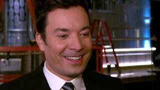 EXCLUSIVE: Jimmy Fallon Helps Roll Out The Golden Globes Red Carpet Teases Pre-Taped Opening