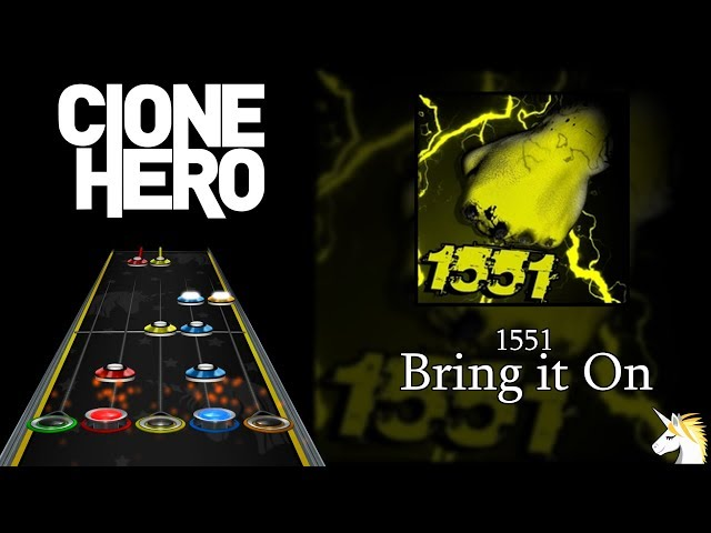 Clone Hero Chart Preview: 1551 - Bring It On