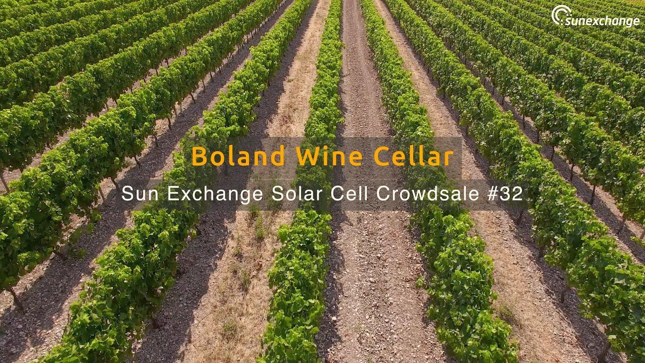 Sun Exchange Solar Crowdsale #32 - Boland Wine Cellar