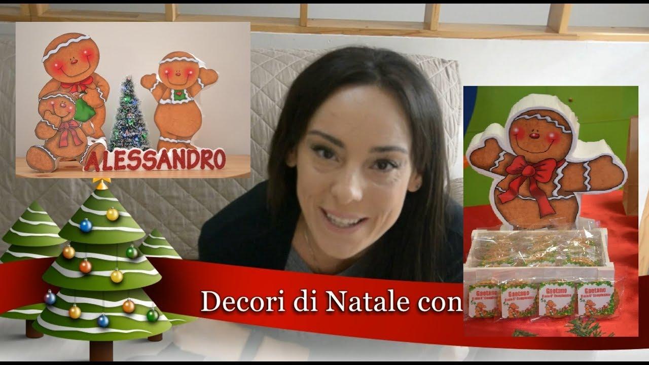Decorazioni Natalizie Con Il Polistirolo.Decori Di Natale Con Il Polistirolo Youtube
