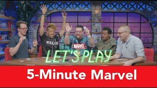 """Teamwork is paramount when the clock is ticking in """"5-Minute Marvel"""" 