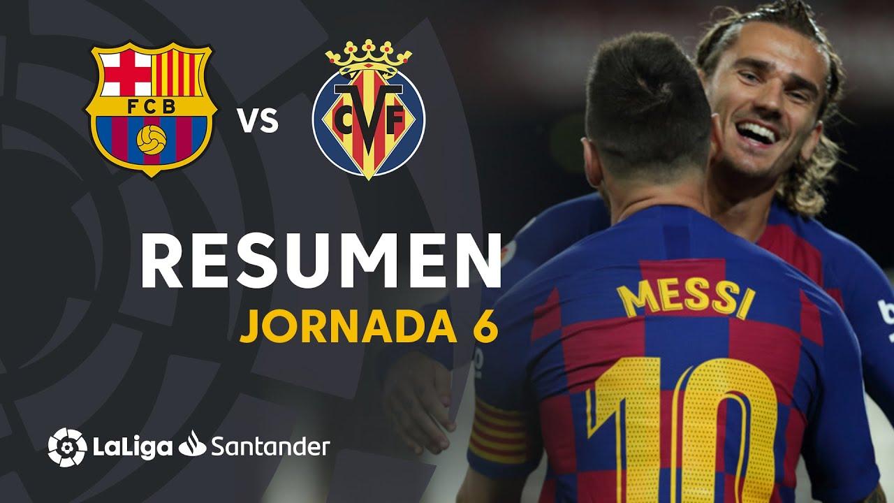 Download Resumen de FC Barcelona vs Villarreal CF (2-1)