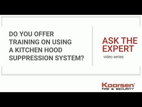 Kitchen Fire Suppression FAQs - Do You Offer Training on Using a ...