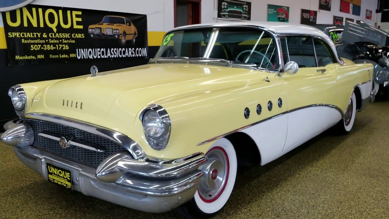 1955 Buick Roadmaster 2dr Hardtop For Sale 15 900 Youtube