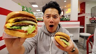 I flew to California just to try IN-N-OUT...
