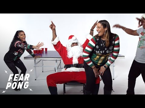 Fear Pong Family Holiday Edition | Fear Pong | Cut