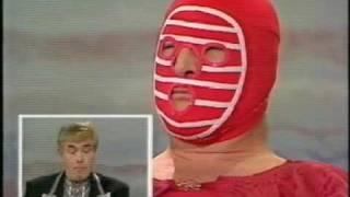 British Wrestling Masked Kendo Nagasaki Interview (1992)