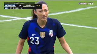 USA vs Brazil || SheBelieves Cup 2021