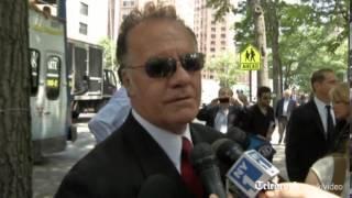 Sopranos stars gather for funeral of James Gandolfini