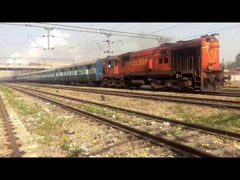 Malwa Express (मालवा एक्सप्रेस) daily superfast express train   Jammu to Indore  Indian Railways