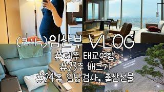 [Vlog] 23주 제주 태교여행(그랜드하얏트제주,금오…
