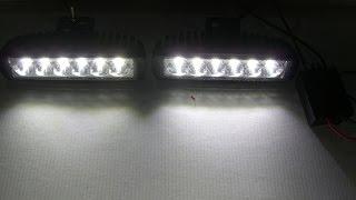 Светодиодные фары 2218 18ВТ+ стробоскоп(Фары дальнего (рабочего) света LED 2218-18W-А со стробоскопом (комплект) http://gv-auto.com.ua/, 2014-03-23T13:39:13.000Z)