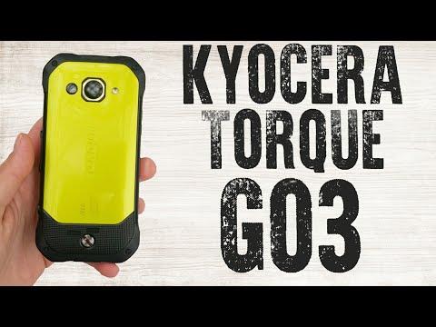 Японский защищенный смартфон Kyocera Torque G03 (Краткий обзор)