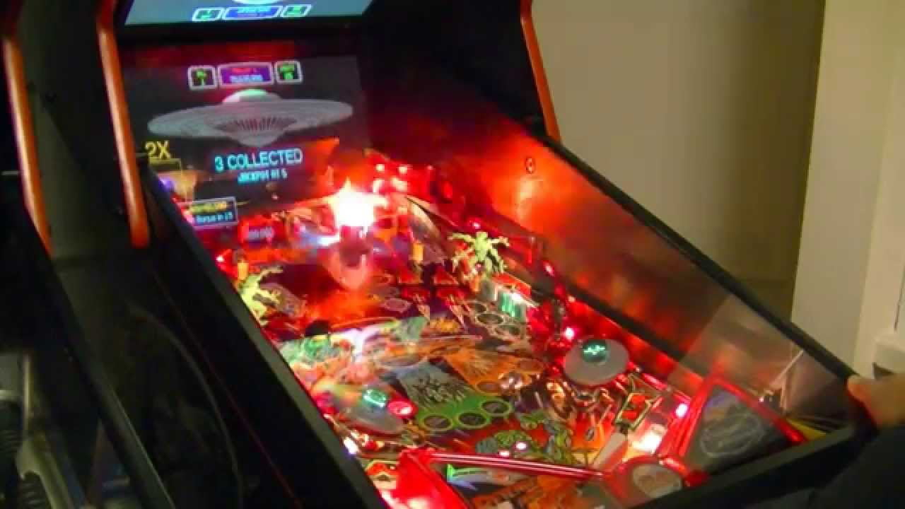 Pinball 2000 bally Revenge From Mars Pinball ピンボール リベンジ ...