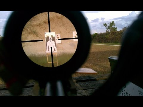 Sniper Rifle Wallpaper Hd Shooter Scope View At 200 Yards Youtube