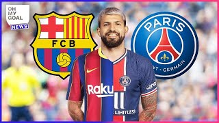 Sergio Agüero is leaving Man City: 5 clubs that could sign him | Oh My Goal
