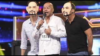 Yo Soy: Oscar D'León puso a bailar a Ricardo Morán y sus clones