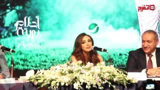 أنغام تحتفل بألبومها الجديد مع أصالة وسميرة سعيد وإلهام شاهين (اتفرج)