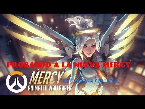 OVERWATCH!! PROBANDO A LA MERCY NERFEADA!!