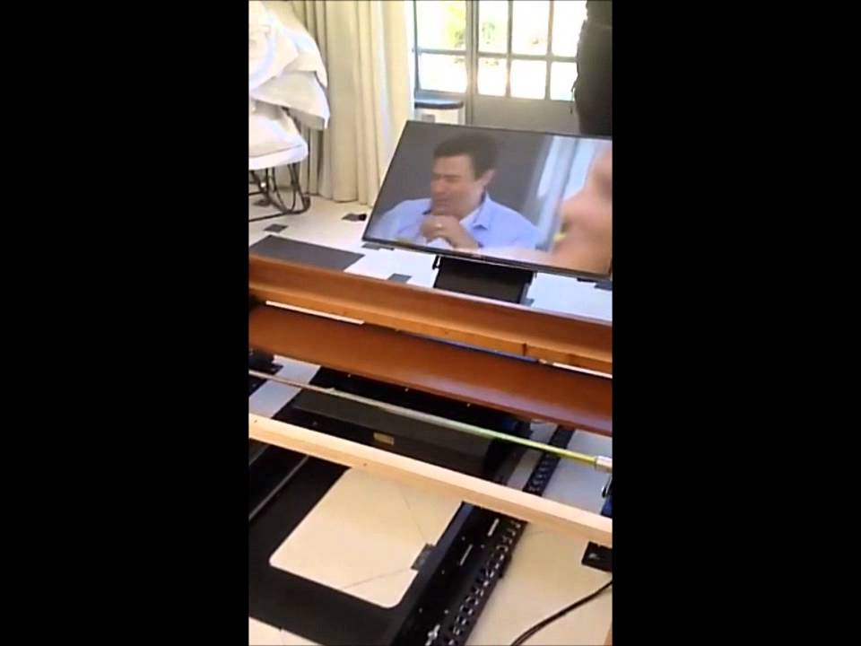 m canisme tv lit avec rotation youtube. Black Bedroom Furniture Sets. Home Design Ideas
