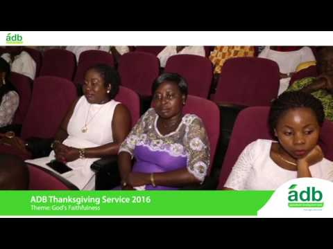 ADB Thanksgiving Service