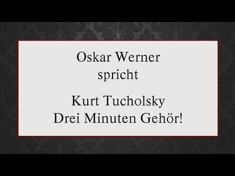 """Kurt Tucholsky """"Drei Minuten Gehör!"""" (1922)"""
