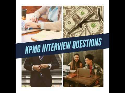 KPMG Interview Questions