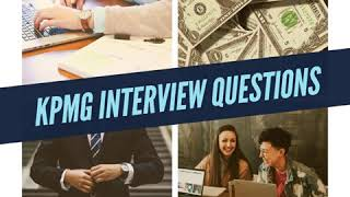 KPMG Interview Questions
