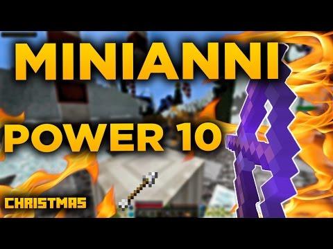 Minecraft MiniAnni - Christmas | Power 10 LUK!?