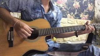 Cỏ úa - guitar cover