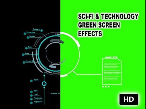 SCI-FI & TECHNOLOGY Green screen effect HD