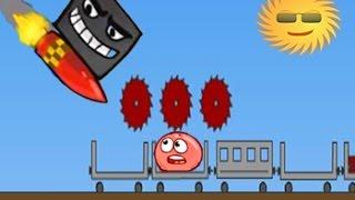 Red Ball Красный шарик игра как мультик для детей от Фаника