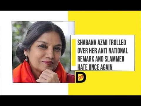Shabana Azmi trolled over her Anti National Remarks Mp3