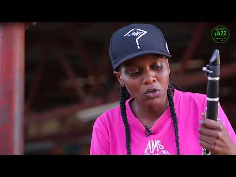 Celine Akumu, Clarinetist, Ghetto Classics. #SafaricomJazz