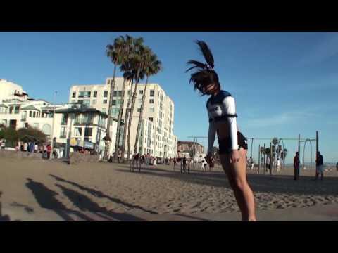 Muscle Beach in Santa Monica, CA in Slow Motion 240fps
