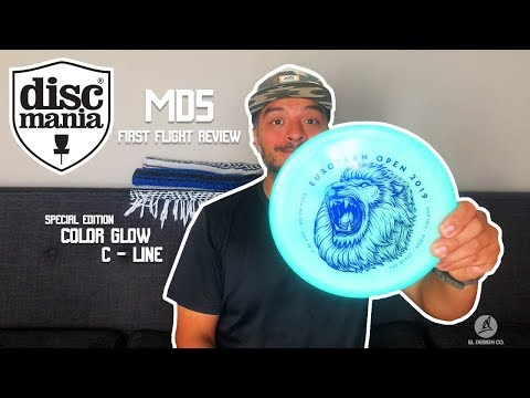 Discmania NEW MD5!!! First Flight Review!