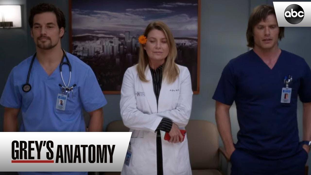 Meredith Link And Deluca Greys Anatomy Season 15 Episode 6 Youtube