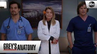 Meredith, Link and Deluca - Greys Anatomy Season 15 Episode 6